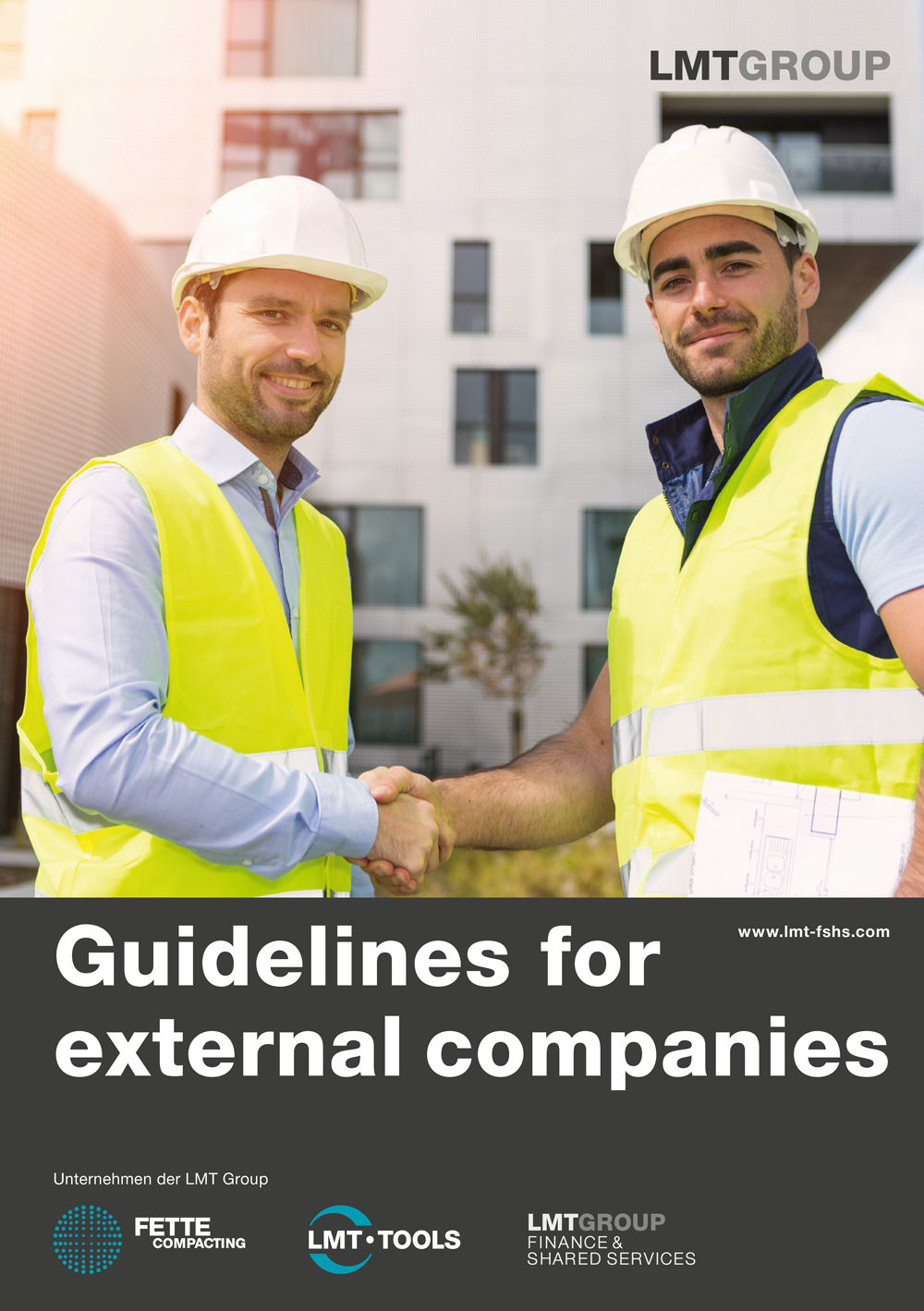 Guidelines for external companies